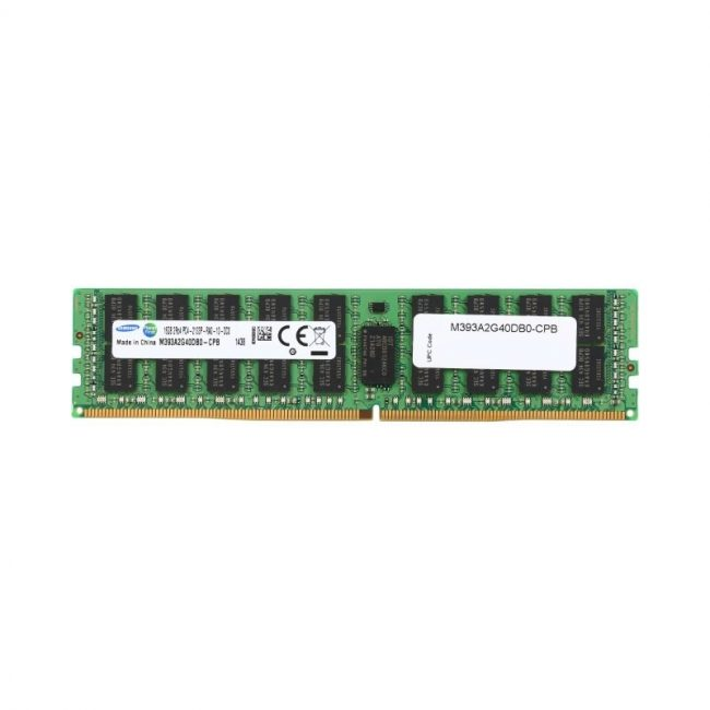 SAMSUNG 16GB DDR4 2133 ECC Registered (PC4 17000) | M393A2G40DB0-CPB